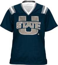 Load image into Gallery viewer, Utah State University: Girls' Football Fan Jersey - Goal Line
