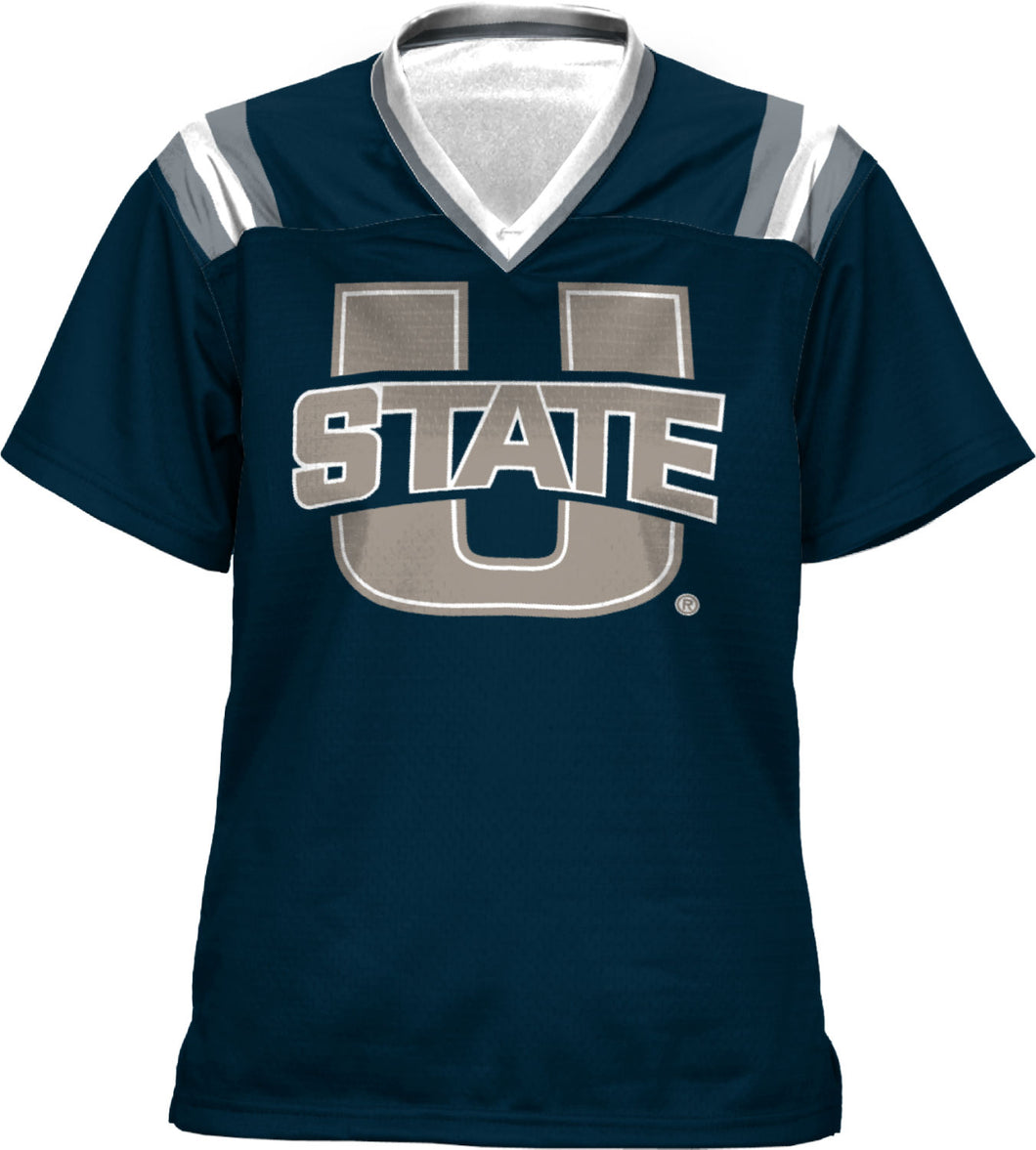 Utah State University: Girls' Football Fan Jersey - Goal Line