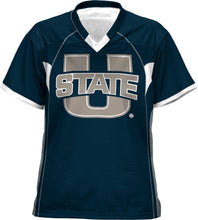 Load image into Gallery viewer, Utah State University: Women's Football Fan Jersey - No Huddle