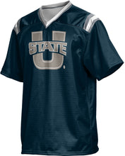 Load image into Gallery viewer, Utah State University: Boys' Football Fan Jersey - Goal Line