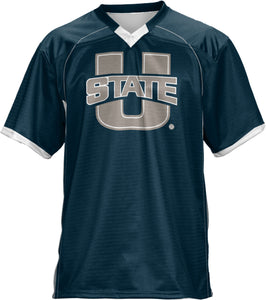 Utah State University: Boys' Football Fan Jersey - No Huddle