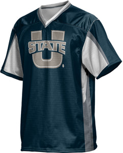 Utah State University: Boys' Football Fan Jersey - Scramble