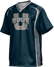 Load image into Gallery viewer, Utah State University: Boys' Football Fan Jersey - Wild Horse