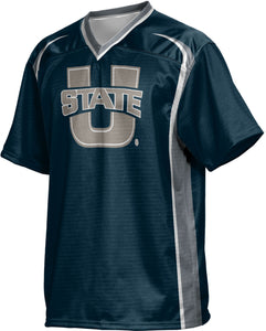 Utah State University: Boys' Football Fan Jersey - Wild Horse