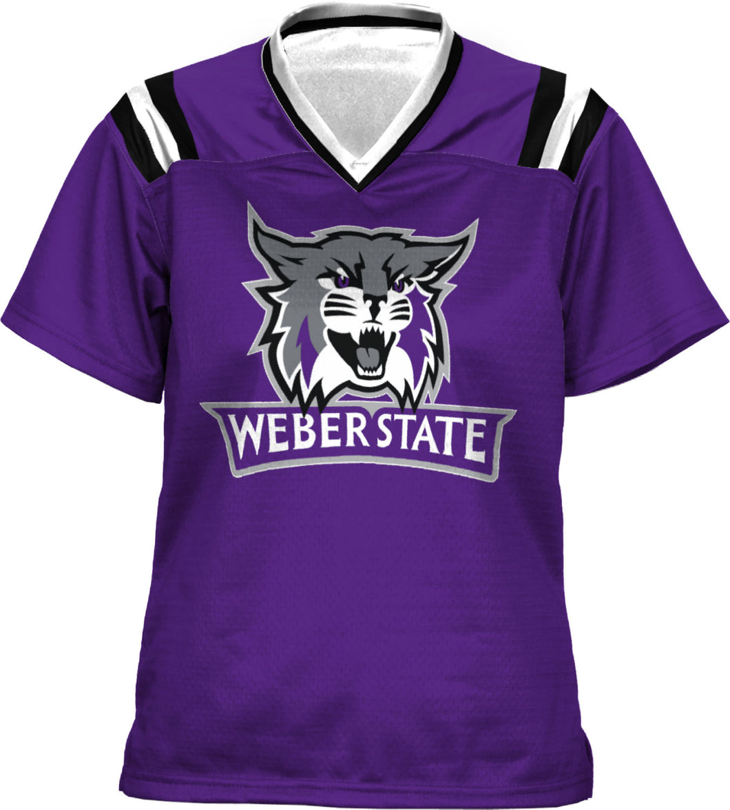 Weber State University: Girls' Football Fan Jersey - Goal Line