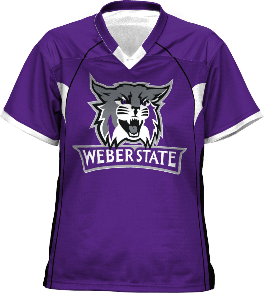 Weber State University: Girls' Football Fan Jersey - No Huddle