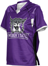 Load image into Gallery viewer, Weber State University: Girls' Football Fan Jersey - No Huddle
