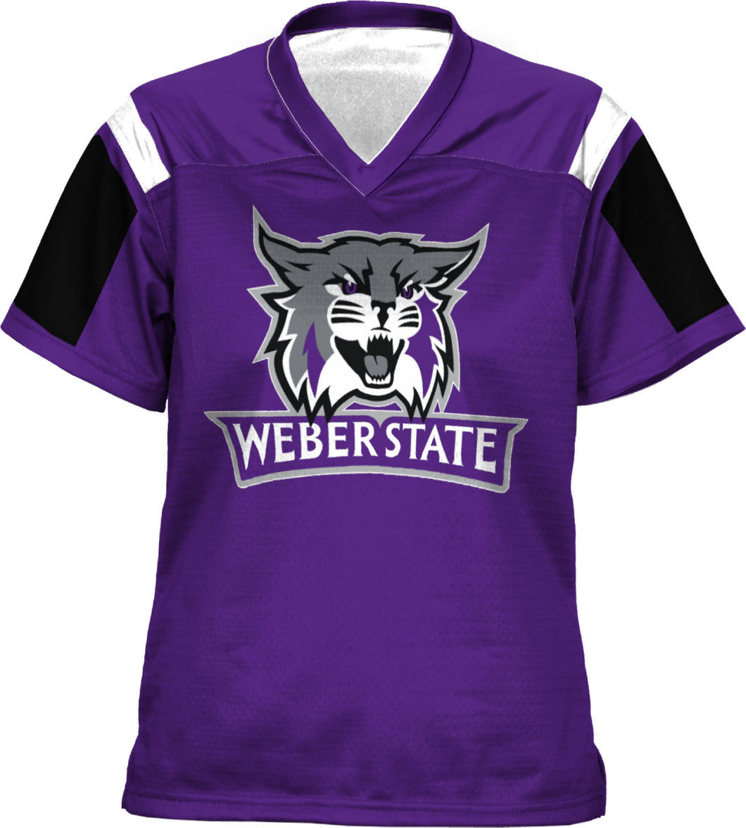 Weber State University: Women's Football Fan Jersey - Thunderstorm