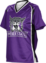 Load image into Gallery viewer, Weber State University: Women's Football Fan Jersey - Wild Horse
