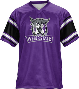 Weber State University: Men's Football Fan Jersey - Endzone