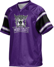 Load image into Gallery viewer, Weber State University: Men's Football Fan Jersey - Endzone