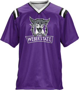 Weber State University: Boys' Football Fan Jersey - Goal Line