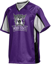 Load image into Gallery viewer, Weber State University: Men's Football Fan Jersey - Scramble