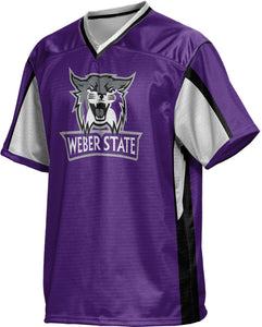 Weber State University: Men's Football Fan Jersey - Scramble