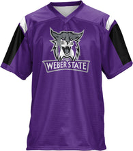 Load image into Gallery viewer, Weber State University: Men's Football Fan Jersey - Thunderstorm
