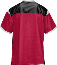 Load image into Gallery viewer, Southern Utah University Utah: Men's Football Fan Jersey - Red Zone