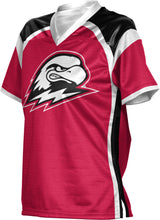Load image into Gallery viewer, Southern Utah University: Women's Football Fan Jersey - Red Zone