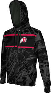 University of Utah Men's Full Zip Hoodie - Ripple
