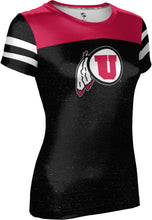 Load image into Gallery viewer, University of Utah: Women's T-shirt - Gameday