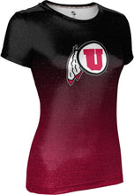 Load image into Gallery viewer, University of Utah: Women's T-shirt - Ombre