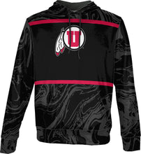 Load image into Gallery viewer, University of Utah: Boys' Pullover Hoodie - Ripple