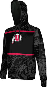 University of Utah: Boys' Pullover Hoodie - Ripple