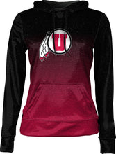 Load image into Gallery viewer, University of Utah: Girls' Pullover Hoodie - Ombre