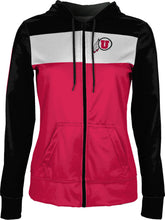 Load image into Gallery viewer, University of Utah: Girls' Full Zip Hoodie - Prime