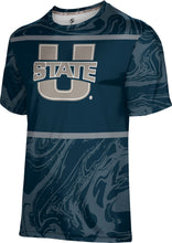 Load image into Gallery viewer, Utah State University: Men's T-shirt - Ripple
