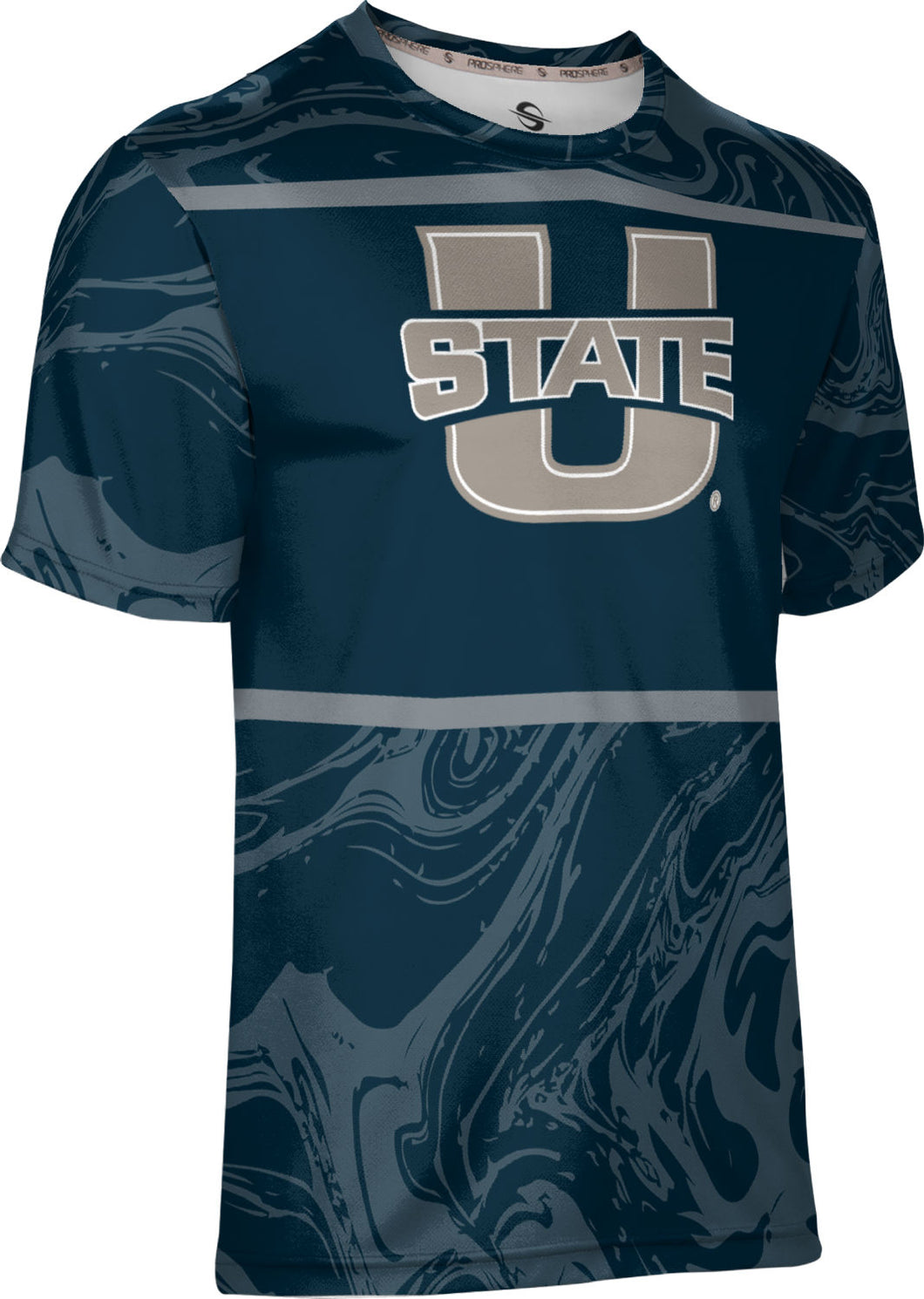 Utah State University: Men's T-shirt - Ripple