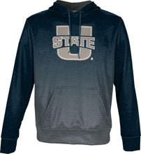 Load image into Gallery viewer, Utah State University: Men's Pullover Hoodie - Ombre