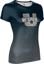 Load image into Gallery viewer, Utah State University: Girls' T-shirt - Gradient