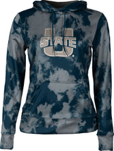 Load image into Gallery viewer, Utah State University: Women's Pullover Hoodie - Grunge