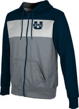Load image into Gallery viewer, Utah State University: Boys' Full Zip Hoodie - Prime