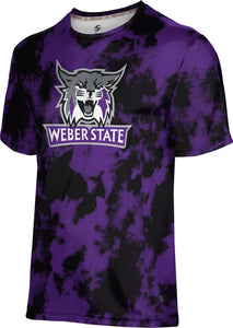 Weber State University: Men's T-shirt - Distressed