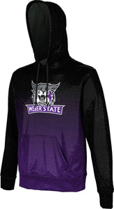 Weber State University: Men's Pullover Hoodie - Ombre