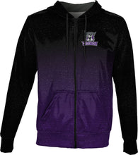 Load image into Gallery viewer, Weber State University: Men's Full Zip Hoodie - Ombre