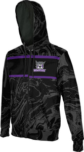 Weber State University: Men's Full Zip Hoodie - Ripple