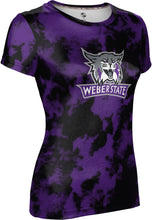 Load image into Gallery viewer, Weber State University: Women's T-shirt - Grunge