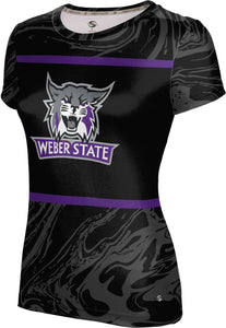 Weber State University: Women's T-shirt - Ripple
