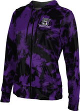 Load image into Gallery viewer, Weber State University: Women's Full Zip Hoodie - Grunge