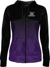 Load image into Gallery viewer, Weber State University: Women's Full Zip Hoodie - Ombre