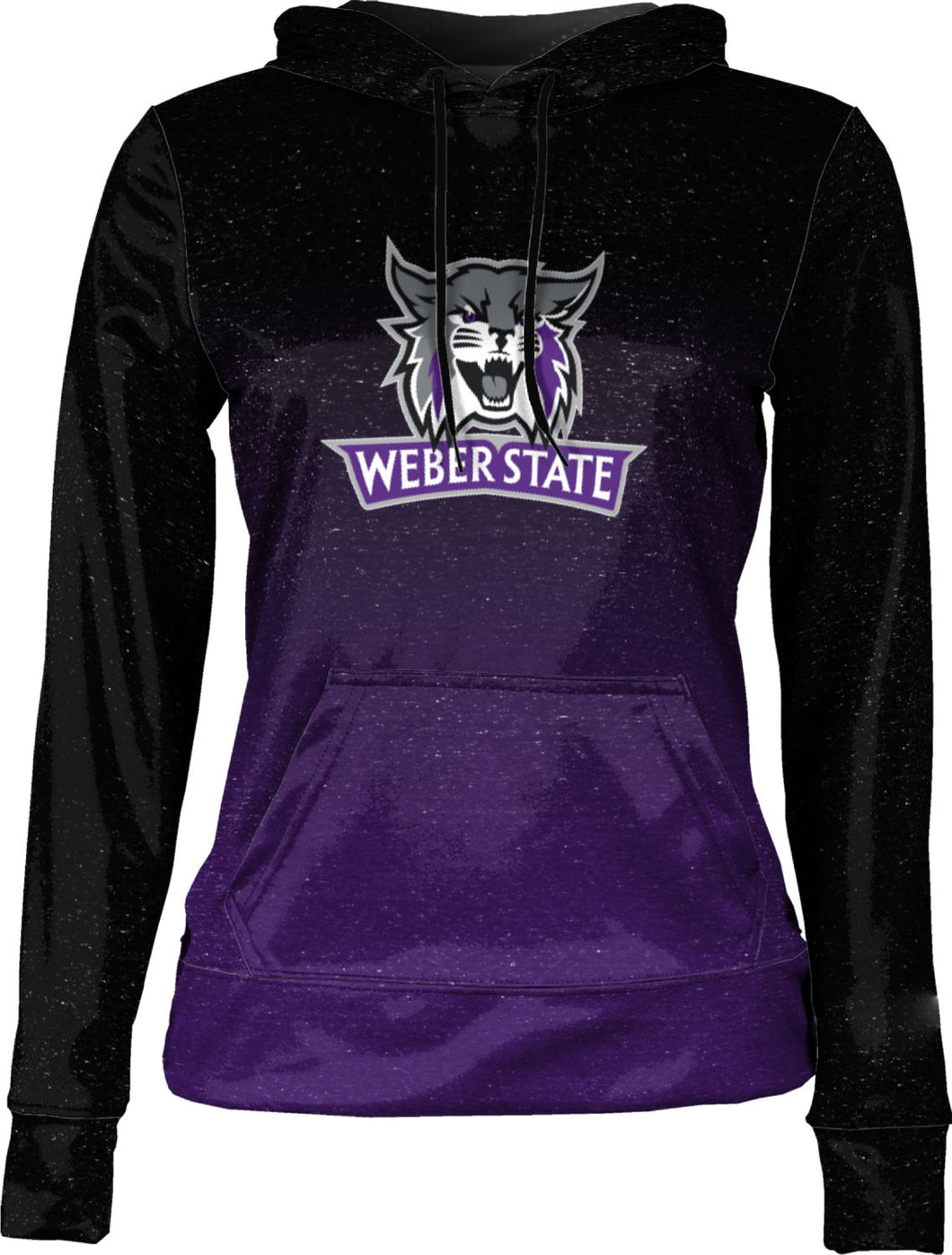 Weber State University: Girls' Pullover Hoodie - Ombre