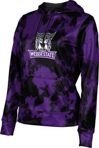 Weber State University: Women's Pullover Hoodie - Grunge