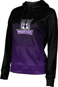 Weber State University: Women's Pullover Hoodie - Ombre