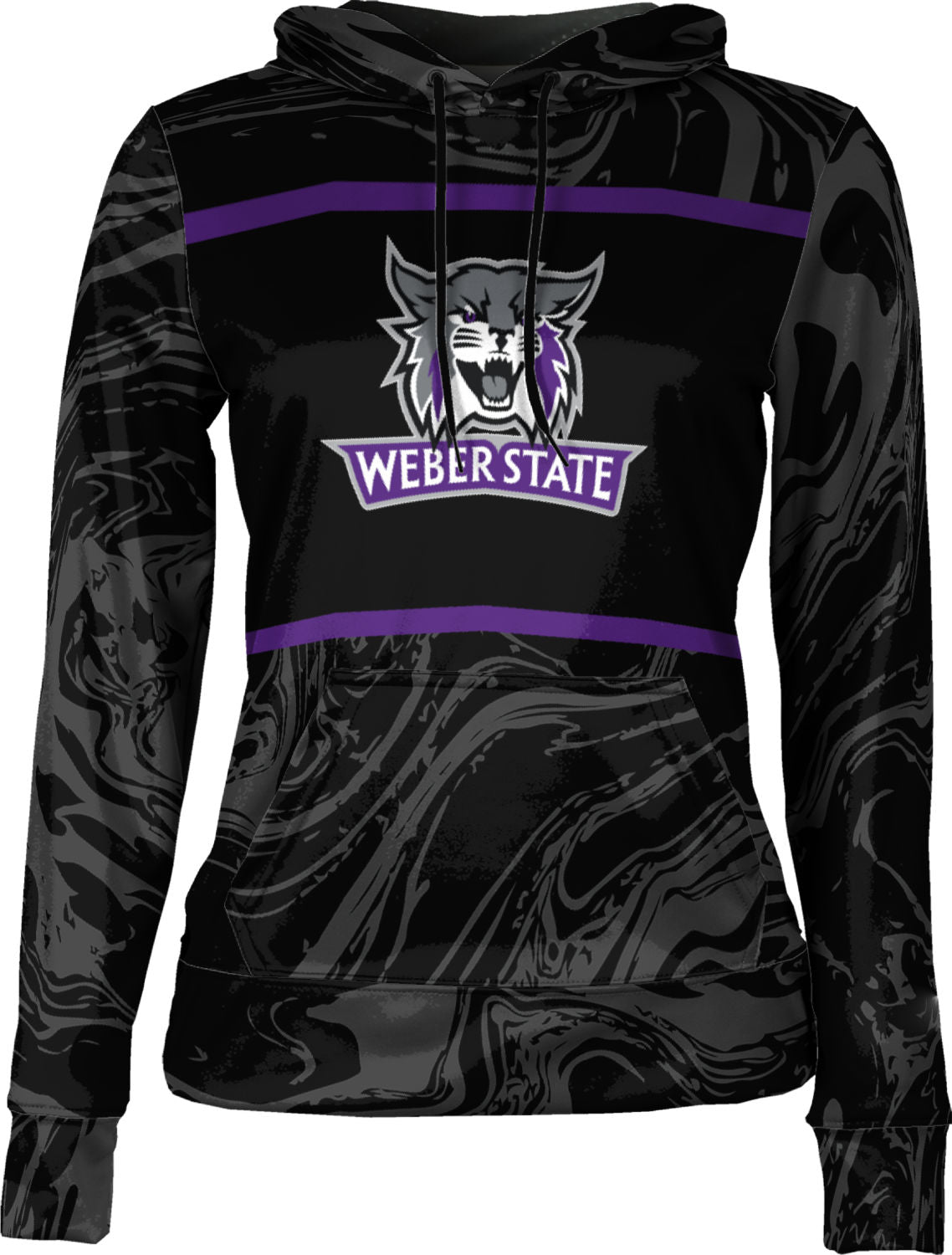Weber State University: Women's Pullover Hoodie - Ripple