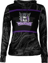Load image into Gallery viewer, Weber State University: Women's Pullover Hoodie - Ripple