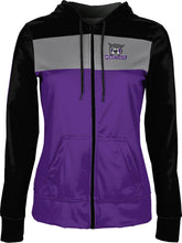 Load image into Gallery viewer, Weber State University: Girls' Full Zip Hoodie - Prime