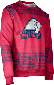 Dixie State University: Unisex Ugly Holiday Sweater - Chill