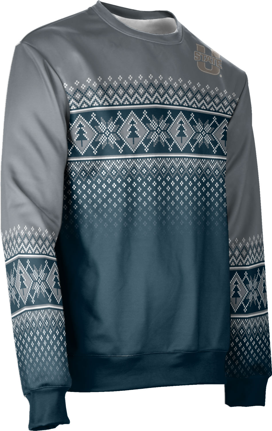 Utah State University: Ugly Holiday Unisex Sweater - Rejoice